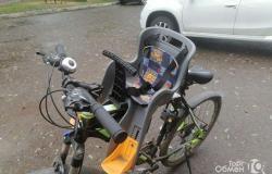 Детское кресло на велосипед в Саранске - объявление №613248