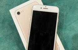 Apple iPhone 7, 128 ГБ, б/у в Иваново - объявление №615763