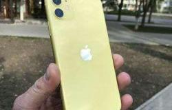 Apple iPhone 11, 128 ГБ, б/у в Пскове - объявление №615882