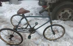 Детский трëхколëсный велосипед СССР в Уссурийске - объявление №616218