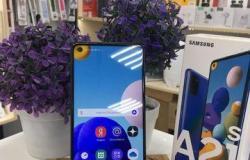 Samsung Galaxy A21s 3/32Gb Blue imei35064217233958 в Великом Новгороде - объявление №617158