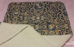 Одеяло-плед из шерсти мериноса в Кемерово - объявление №617774