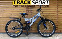 Велосипед детский новый Novatrack Shark 20